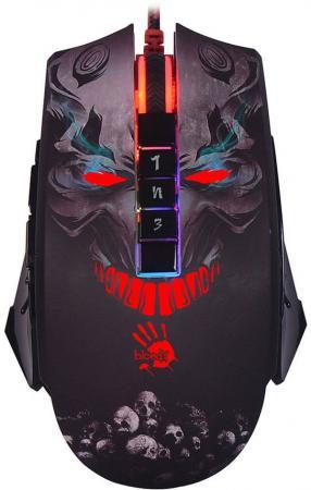 купить Мышь проводная A4TECH Bloody P85 Skull чёрный USB недорого