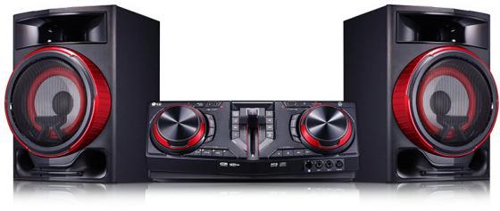 Минисистема LG CJ87 720Вт черный минисистема lg om7550k