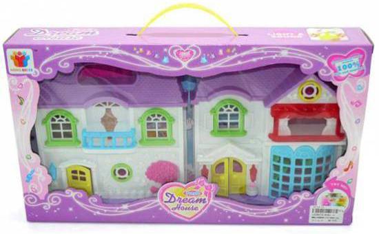 Дом для кукол Shantou Gepai Вилла мечты 8081-3 дом для кукол shantou gepai дом с мебелью 897