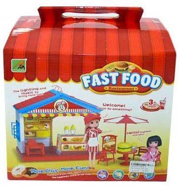 Игровой набор Shantou Gepai Ресторан быстрого питания 2355-3 набор ресторан гамбургер