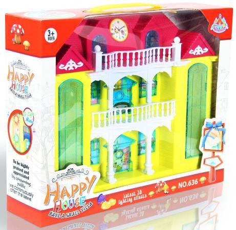 Дом для кукол Shantou Gepai Двухэтажная усадьба 636 дом для кукол shantou gepai дом с мебелью 897