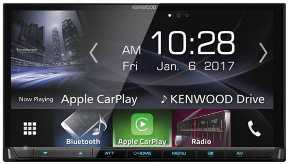 Автомагнитола Kenwood DMX7017BTS 6.2 USB MP3 DVD CD FM 2DIN 4x40Вт черный автомагнитола kenwood kdc 151ry usb mp3 cd fm 1din 4х50вт черный