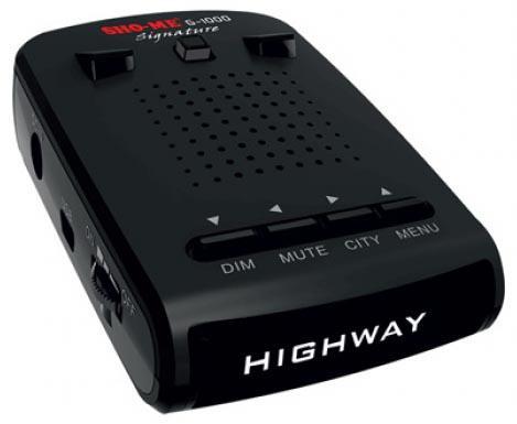 Радар-детектор Sho-Me G-1000 Signature видеорегистратор sho me combo slim signature