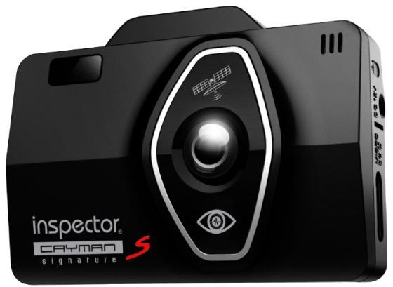Видеорегистратор Inspector Cayman S 2.4 1920x1080 130° microSD microSDXC датчик удара черный видеорегистратор inspector marlin s