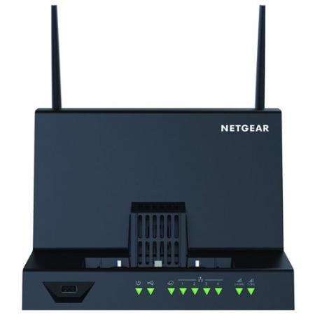 Точка доступа NetGear DC112A-100EUS 802.11aс 5 ГГц 2.4 ГГц 4xLAN USB черный for samsung clp 680 clp 680 original used power supply board printer parts 110v on sale