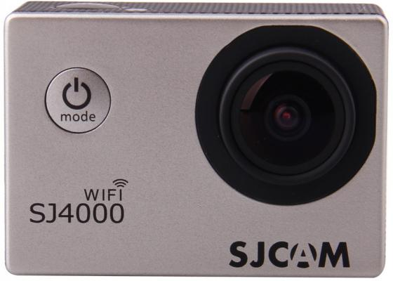 все цены на Экшн-камера SJCAM SJ4000 Wi-Fi 1xCMOS 3Mpix серебристый онлайн