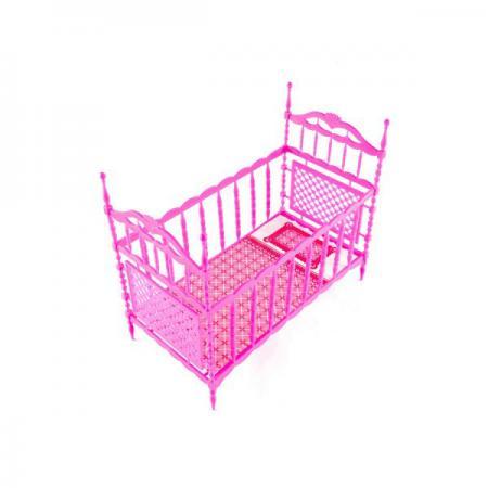 Кроватка для куклы Пластмастер 22005