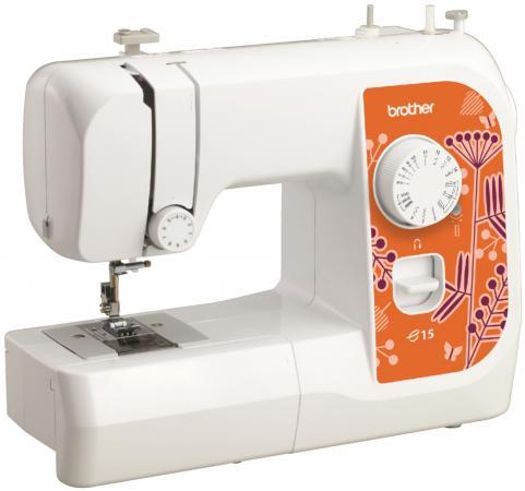 Швейная машина Brother E15 белый швейная машина brother satori 100