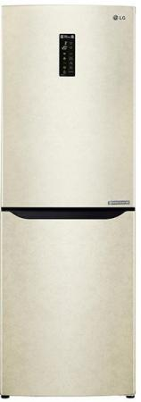 Холодильник LG GA-B389SECZ бежевый холодильник lg ga b489zecl бежевый