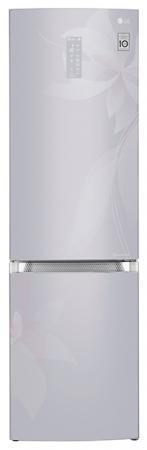 Холодильник LG GA-B499TGDF серебристый холодильник lg ga b489yaqz серебристый