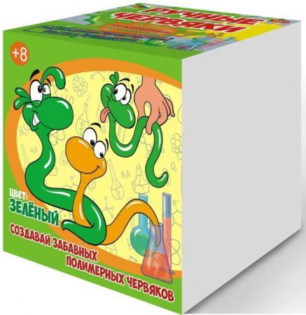Набор для опытов GOOD FUN Цветные полимерные червяки зеленый GF002G
