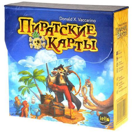 Настольная игра карточная Magellan Пиратские карты MAG05264 magellan magellan настольная игра пиратские карты