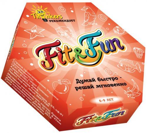 Настольная игра логическая THINKERS Fit and Fun настольная игра thinkers башня таварра 0708