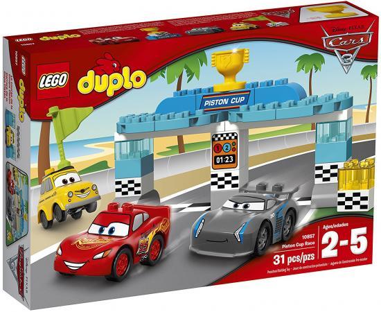 Конструктор LEGO Duplo - Гонка за Кубок Поршня 31 элемент 10857