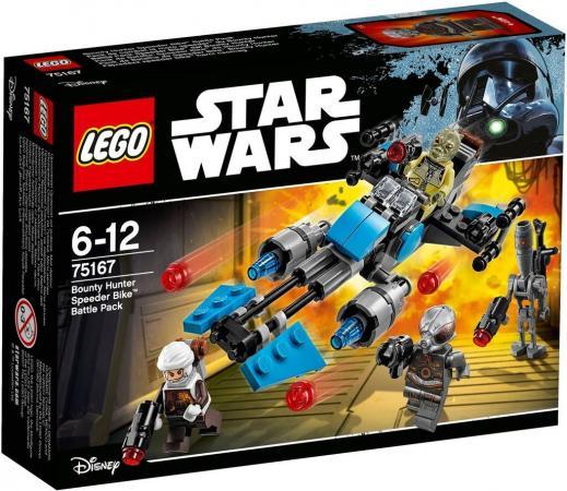 Конструктор LEGO Лего: Звездные войны - Спидер охотника за головами 122 элемента