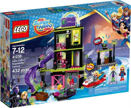 Конструктор LEGO Фабрика криптомитов Лены Лютор 41238 432 элемента конструктор lego super hero girls 41238 фабрика криптомитов лены лютор