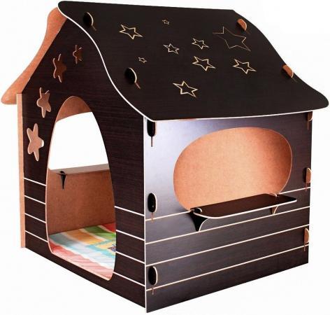 Игровой домик Mouse House Звезды, сборный ЭКО-МДФ 060-5 avanti игровой домик с мячиками mouse