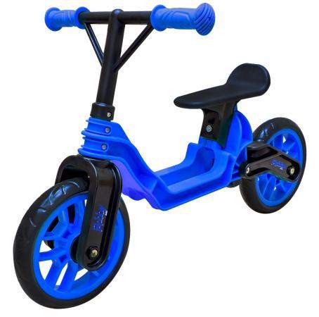 Беговел двухколёсный RT Hobby bike Magestic 10 черно-синий беговел rt hobby bike magestic 10 розово черный двухколёсный