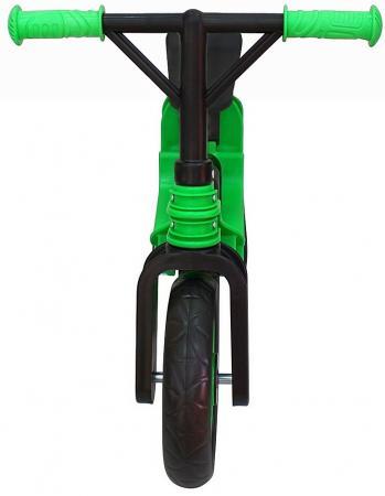 Беговел двухколёсный RT Hobby bike Magestic 10 зелено-черный hobby bike rt fly а