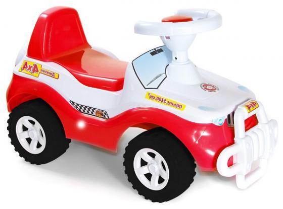 Каталка-машинка R-Toys Джипик Джипик пластик от 8 месяцев на колесах красный каталка orion toys каталка джипик полиция 105 пол