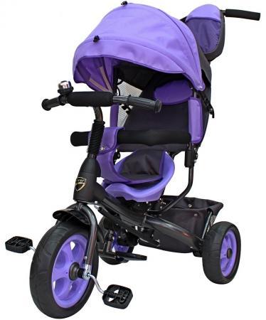 Велосипед трехколёсный RT Galaxy Лучик VIVAT 6582 фиолетовый 6582