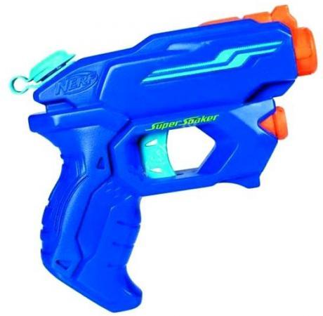 Бластер Hasbro Nerf супер сокер альфа синий бластер nerf супер сокер заморозка a4838