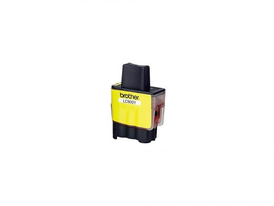 Картридж Brother LC900Y для MFC-210C DCP-110C Fax-1840C желтый brother lc1220y yellow картридж для brother dcp j525w mfc j430w mfc j825dw
