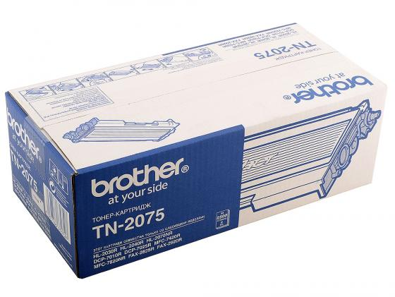 Картридж Brother TN-2075 для HL-2030R HL-2040R 2070NR Fax-2920 MFC-7420 7820N DCP-7010 картридж profiline pl tn 2075 for brother hl 2030 2040 2045 2050 2070 2075n dcp 7010 7020 7025 fax 2820 2920 mfc 7220 7225 7420 7820 7820n 2500 копий