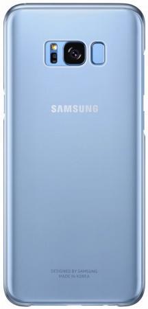 Чехол Samsung EF-QG955CLEGRU для Samsung Galaxy S8+ Clear Cover голубой/прозрачный samsung ef bt715 book cover чехол для galaxy tab s2 8 0 black