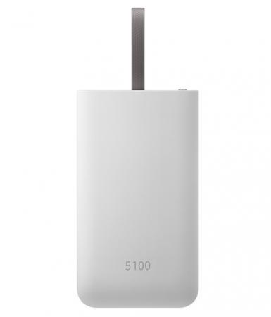 Портативное зарядное устройство Samsung EB-PG950CSRGRU 5210mAh универсальный USB серый цена