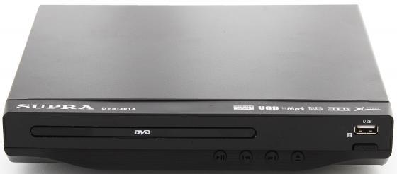 Проигрыватель DVD Supra DVS-301X черный проигрыватель dvd supra dvs 207x black