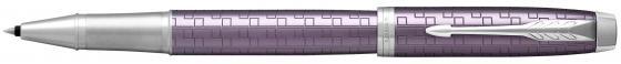 все цены на Ручка-роллер Parker IM Premium T324 Dark Violet CT черный F 1931639 онлайн