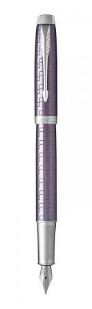 Перьевая ручка Parker IM Premium F324 Dark Violet синий 0.8 мм перо F 1931636 европа перьевая ручка parker im s0856240