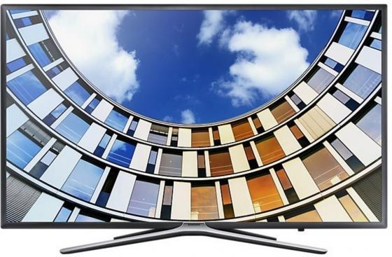 "Телевизор 49"" Samsung UE49M5500AUX титан 1920x1080 120 Гц Wi-Fi Smart TV RJ-45 цена и фото"