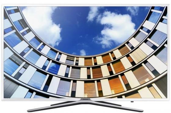 Телевизор LED 49 Samsung UE49M5510AUX белый 1920x1080 Wi-Fi Smart TV RJ-45 led телевизоры samsung ue 55ju6400u