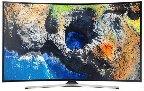Телевизор LED 49 Samsung UE49MU6300UX черный 3840x2160 100 Гц Wi-Fi Smart TV RJ-45 S/PDIF телевизор led 65 samsung qe65q7camux серебристый 3840x2160 wi fi smart tv rs 232c