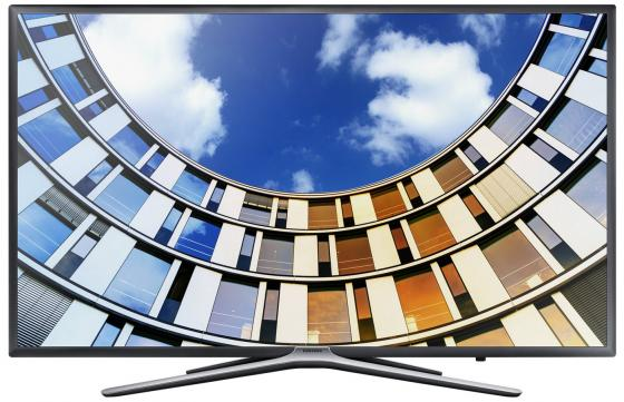 Телевизор LED 55 Samsung UE55M5500AUX титан 1920x1080 Wi-Fi Smart TV RJ-45 led телевизоры samsung ue 55ju6400u