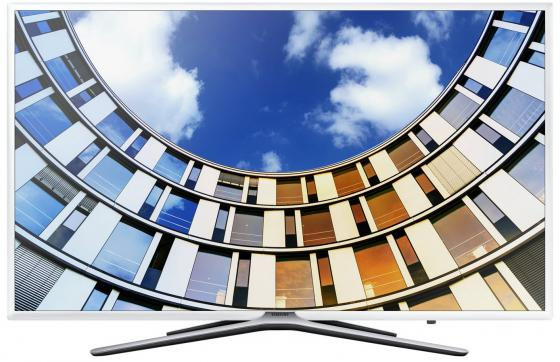 Телевизор 55 Samsung UE55M5510AUX белый 1920x1080 50 Гц Wi-Fi Smart TV RJ-45 Bluetooth WiDi телевизор led 65 lg oled65e6v серый 3840x2160 120 гц wi fi smart tv rj 45 bluetooth widi