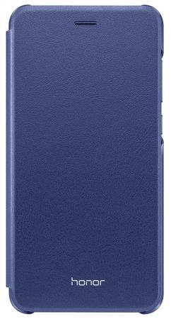 Чехол Huawei для Huawei Honor 8 Lite синий 51991855 смартфон huawei honor 8 lite синий