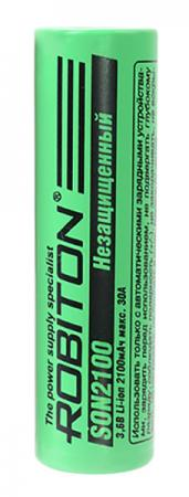 Аккумулятор 2100 mAh Robiton SON2100 18650 1 шт