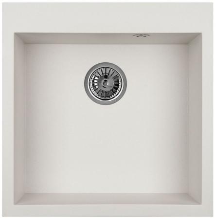 Мойка Weissgauff QUADRO 505 Eco Granit белый  кухонная мойка weissgauff quadro 775 k eco granit белый