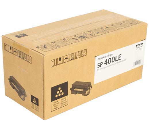 Картридж Ricoh SP 400LE для SP400DN/SP450DN черный 2500стр 408062