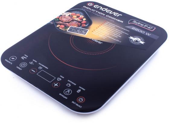 Электроплитка ENDEVER Skyline IP-47 чёрный пылесосы endever пылесос