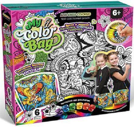 Набор для творчества ДАНКО-ТОЙС My Color Bag сумка-раскраска Фея от 6 лет mCOB-01-05