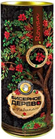 Набор для творчества ДАНКО-ТОЙС бисерное дерево Рябина от 10 лет БД-03 набор для творчества азбука тойс вышивка игольница зелёный орнамент ви 0002