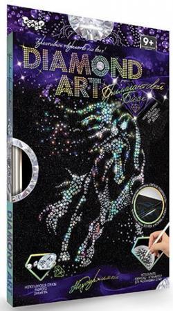 Набор для изготовления картин ДАНКО-ТОЙС Diamond Сова DAR-01-02 от 9 лет набор для плетения из пушистой проволоки азбука тойс заяц и морковка