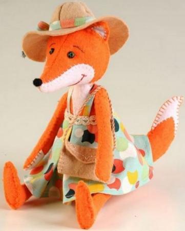 Набор для создания игрушки Перловка Модная Алиса ПФЗД-1008 набор для создания игрушки перловка счастливый ёжик от 6 лет пфзд 1005