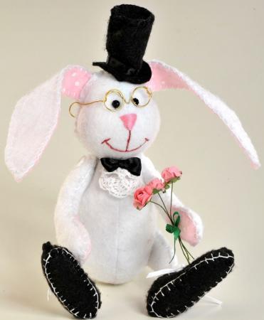 Набор для создания игрушки Перловка Ушастый джентльмен ПФЗД-1006 набор для создания игрушки перловка счастливый ёжик от 6 лет пфзд 1005
