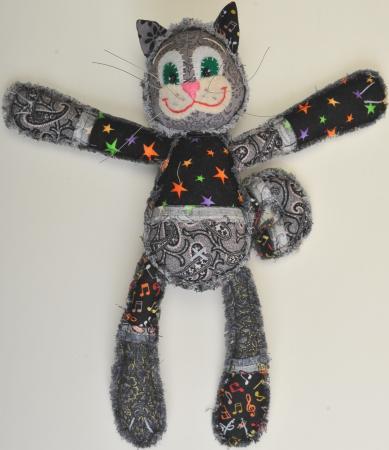 Набор для создания игрушки Перловка Чучело-мяучило ПМ-803 набор для создания игрушки перловка заяц повелитель морей высота 16 5 см