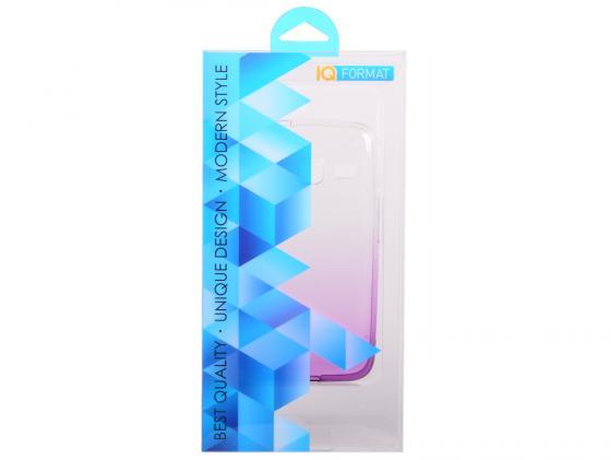 Крышка задняя IQ Format для Samsung Galaxy J1 mini/J105F фиолетовый 4627104429276 iq format крышка задняя для lenovo s90 силикон